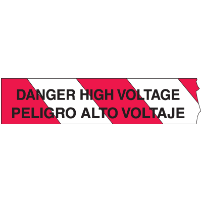 Barricade Tape - Danger, High Voltage