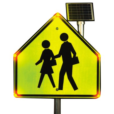 BlinkerSign® - School Crossing