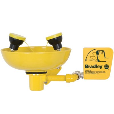 Bradley Wall-Mount Eye/Face Wash Station S19-220FW