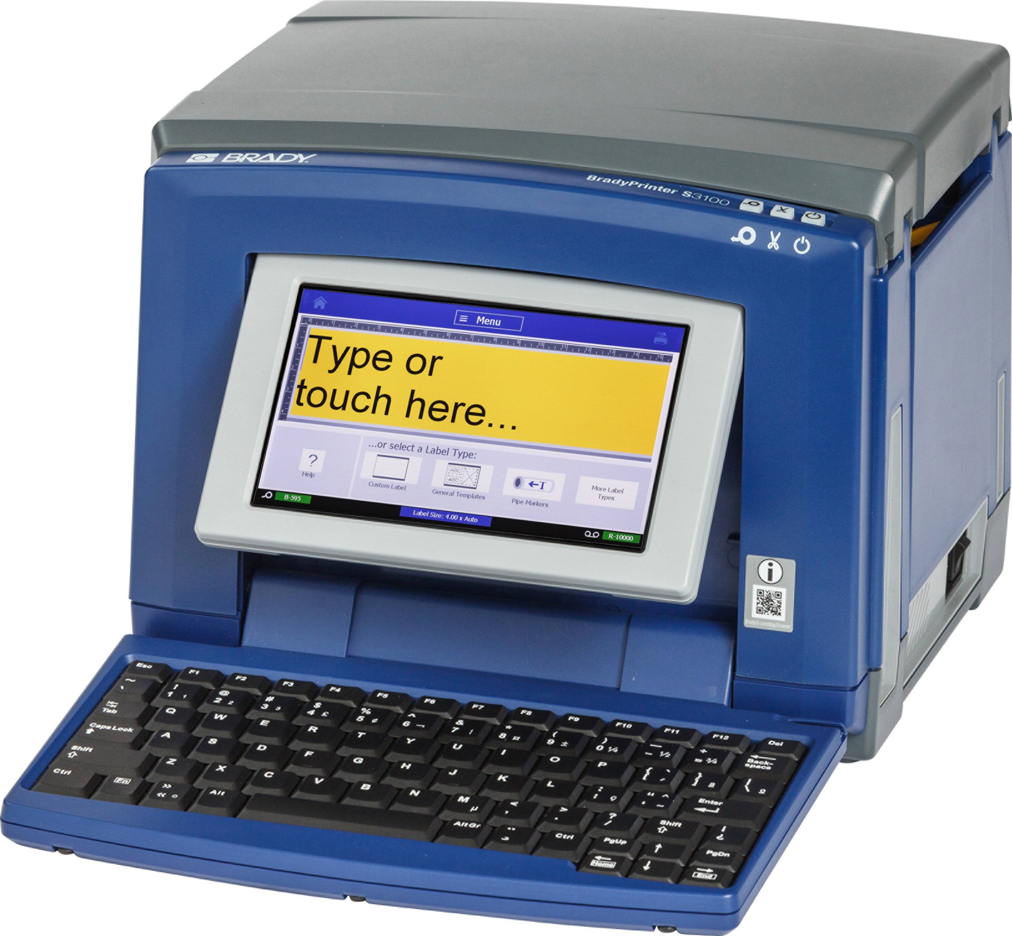 BradyPrinter S3100 Sign and Label Printer