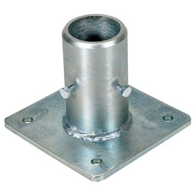 Cast Steel Single Socket - No Toeboard Access