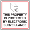 CCTV Warning Signs - Protected Property
