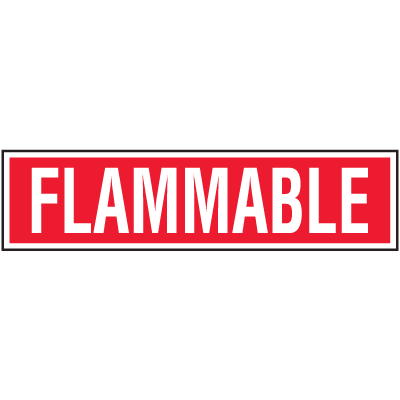 Chemical Label Value Packs - Flammable