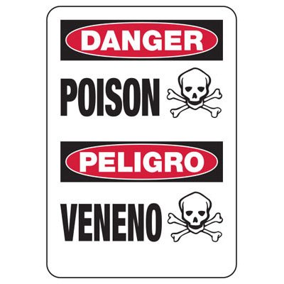 Chemical Signs - Danger Poison