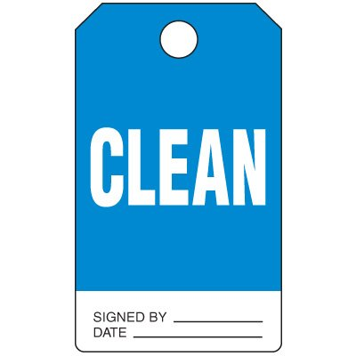 Clean - Production Status Tags