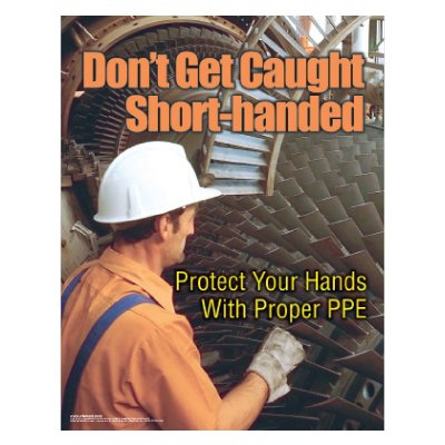 Clement Safety Posters - Hand Safety