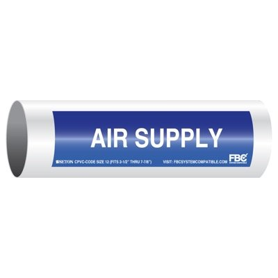 CPVC-Code™ Pipe Markers - Air Supply