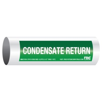 CPVC-Code™ Pipe Markers - Condensate Return