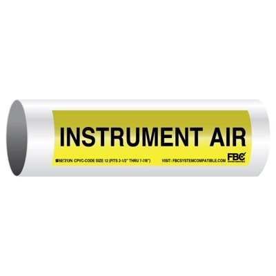 CPVC-Code™ Pipe Markers - Instrument Air