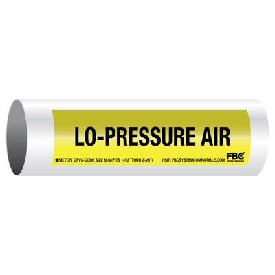 CPVC-Code™ Pipe Markers - Lo-Pressure Air