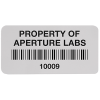 Chemical Resistant Asset Labels