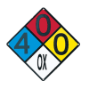 Custom NFPA 704 Hazard Rating Signs