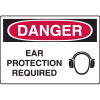 Danger Signs - Ear Protection Required