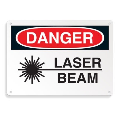 Danger Signs - Laser Beam