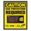 Decibel Meter Sign Kit - Ear Protection (Earplugs Symbol)