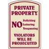 Designer Property Signs - Private Property