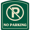 Designer Property Signs - No Parking (with Symbol)