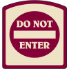 Designer Property Signs - Do Not Enter