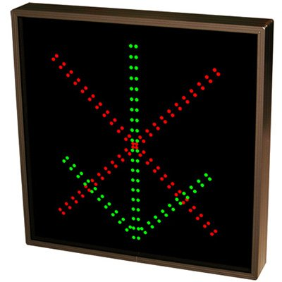 Direct View LED Sign - Down Arrow