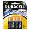 Duracell® Ultra Advanced Alkaline Batteries DURQU1500B4Z