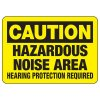 Caution Hazardous Noise Area - Machine Safety Signs
