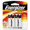 Energizer® MAX® Alkaline 9V Batteries EVE522BP2