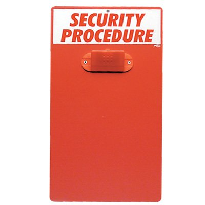 Evacuation Clipboards- Security Procedure