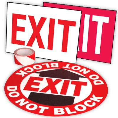 Exit Path Marking Kits - Exit