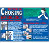 First Aid Wall Charts - What To Do In A Choking Emergency