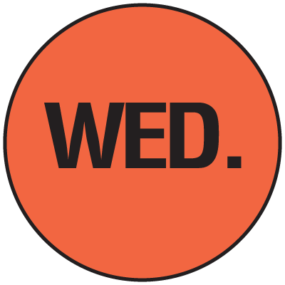 Fluorescent Wed Dot Labels