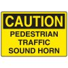Forklift Safety Signs - Caution Pedestrian Traffic
