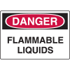 Harsh Condition OSHA Signs - Flammable Liquids
