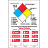 HazCom Labels-On-A-Roll- Personal Protection