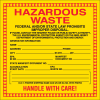 Hazwaste Container Labels - Hazardous Waste NJ Approved