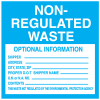 Hazwaste Container Labels - Non-Regulated Waste
