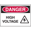 High Performance SetonUltraTuff™ Polyester Labels - Danger High Voltage