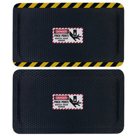 Hog Heaven Safety Message Anti-Fatigue Mats - Danger Pinch Points