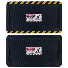 Hog Heaven Safety Message Anti-Fatigue Mats - Danger Stay Clear