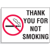 Custom Industrial Graphic No Smoking Signs