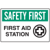 OSHA Informational Signs - First Aid Station