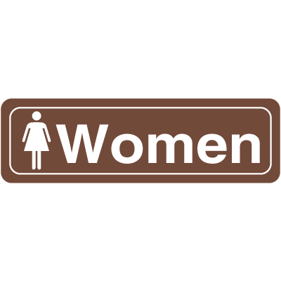Women Interior Signs -