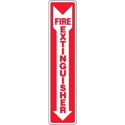 Fire Extinguisher Interior Signs
