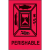 International Shipping Labels- Perishable