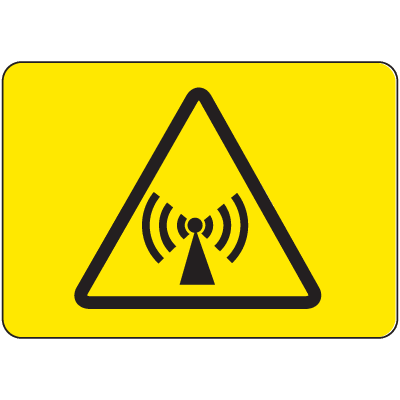 International Symbols Signs - Non-Ionizing Electro-Magnetic Radiation