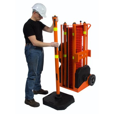 IRONguard Portable Safety Zone Fence Post
