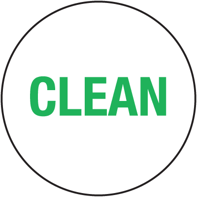 Clean ISO 9000 Labels