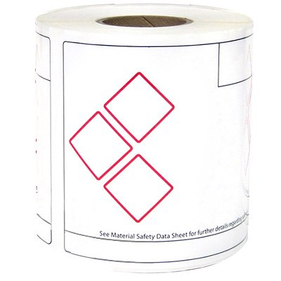 LabelTag® GHS Labels - 3 Diamond