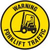 Lexan Heavy Duty Floor Markers-Warning Forklift Traffic