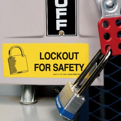 Lockout Labels - Lockout For Safety
