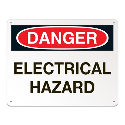 Lockout/Electrical Signs - Electrical Hazard